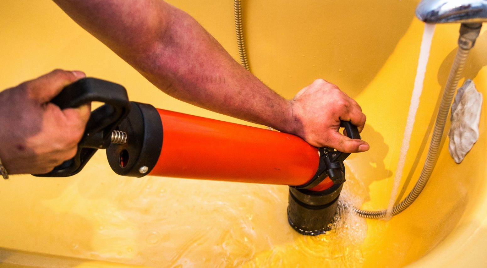 proofessional drain cleaning in Pompano Beach